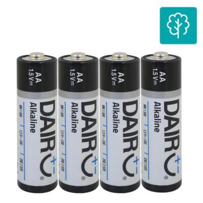 Pack de 4 pilas alcalinas AA 1.5V
