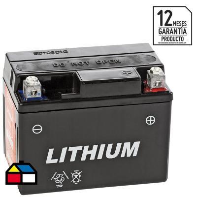 Batería para moto 4 A positivo derecho 70 CCA