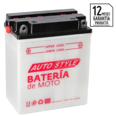 Batería para moto 12 A positivo izquierdo 113 CCA