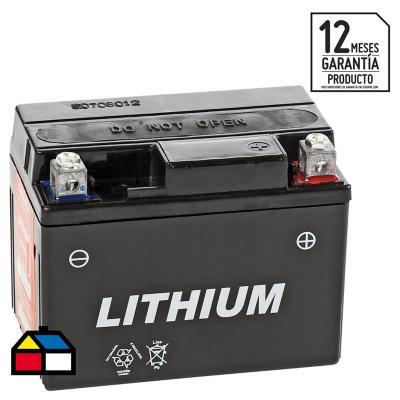 Batería para moto 7 A positivo derecho 74 CCA