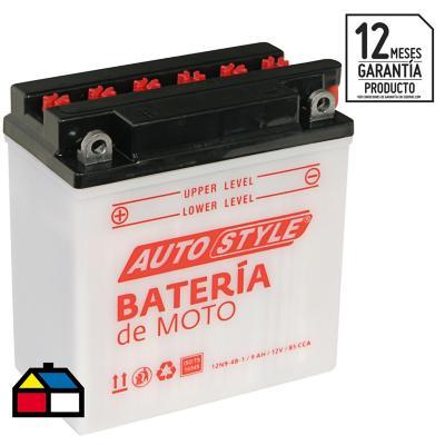 Batería para moto 9 A positivo izquierdo 85 CCA