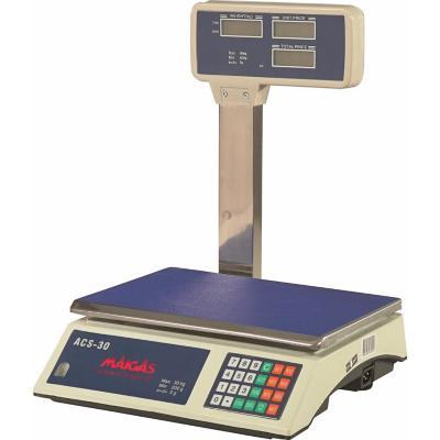 Balanza electrónica 30 kg azul/blanco