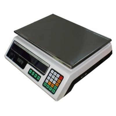 Balanza electrónica 30 kg blanco
