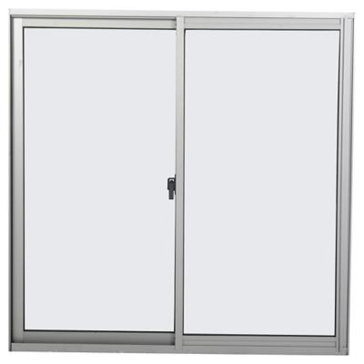 Ventana monolítica aluminio intermedio next 121x100 mate corredera