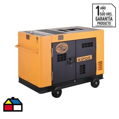 Generador eléctrico a diésel 10500 W