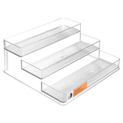 Porta especieros 10x25,4x24 cm acrílico Transparente