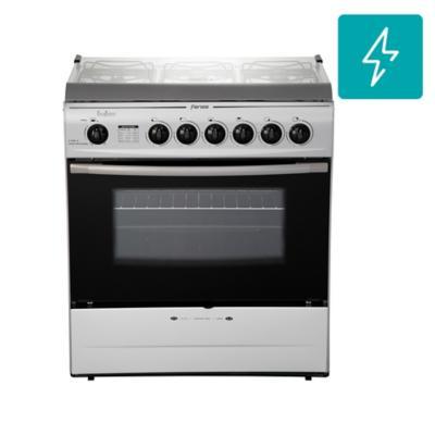 Cocina a gas 6 quemadores 84 litros silver