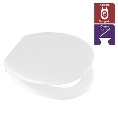Asiento WC infantil especial polipropileno blanco