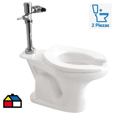 Taza WC Valencia Institucional 7 litros para Fluxor