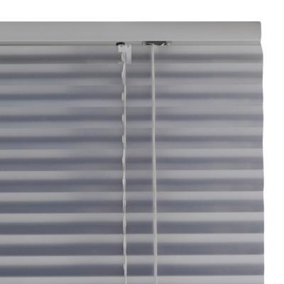 Persiana aluminio 120x165 cm plateado