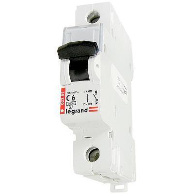 Interruptor automático 6 A curva C 6KA