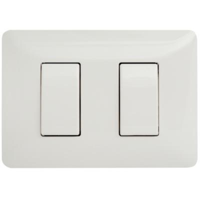 Interruptor Doble Armado (9/15) 16A Blanco