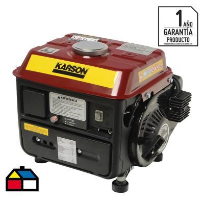 Generador eléctrico a gasolina 720 W