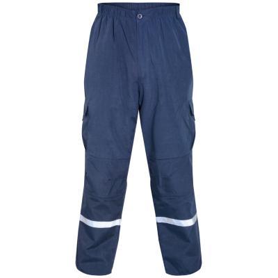 Pantalón Trabajo Cargo Azul L