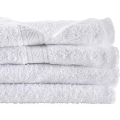 Juego de toallas de baño y mano 360 gr 2 unidades Blanco