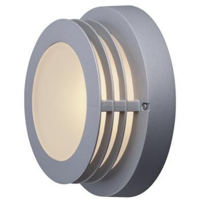 Lámpara tortuga exterior 60 W Gris
