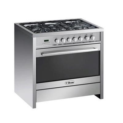 Cocina 5 quemadores PRO-Q5-GL Inox