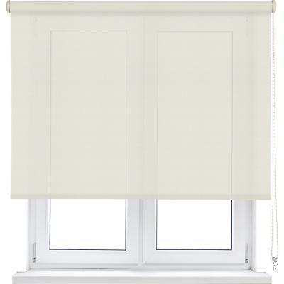 Cortina enrollable sun screen 120x250 cm blanco