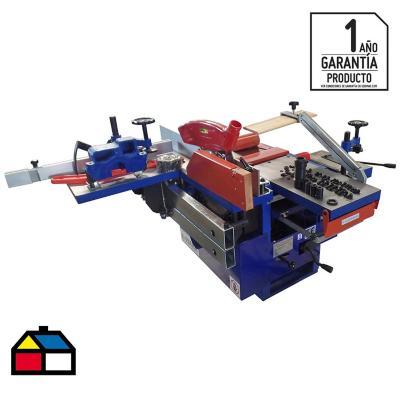 Máquina múltiple 71x112x570 cm acero 2 HP