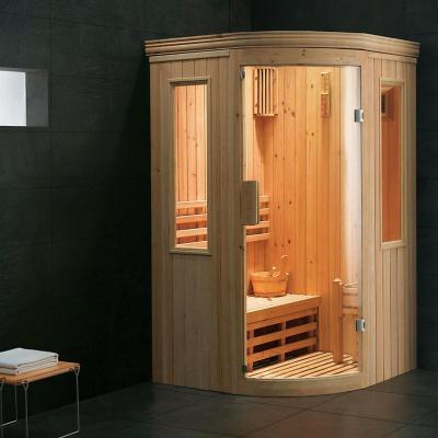 Sala de sauna 204x123x123 cm