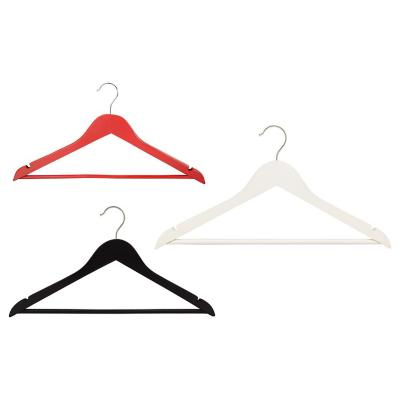 Set de colgadores para ropa madera 3 unidades colores surtidos