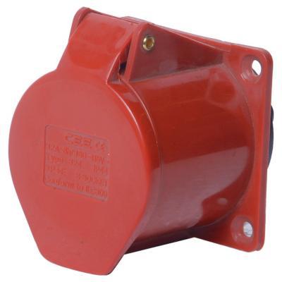 Tomacorriente industrial embutida 32 A 3P+T 380V IP44