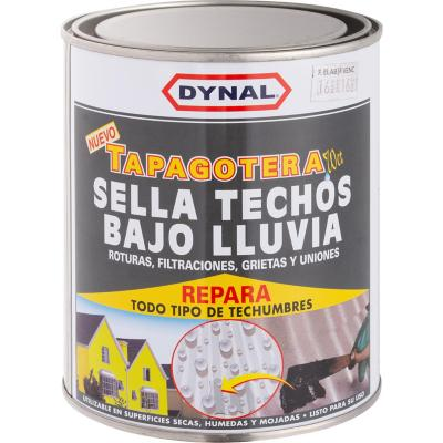 Sellante tapagoteras para techumbres 1/4 gl