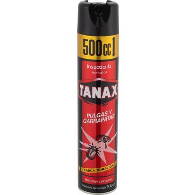 Insecticida para pulgas y garrapatas 500 ml aerosol