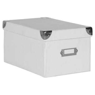 Caja escritorio 13,5x15,5x26 cm blanco