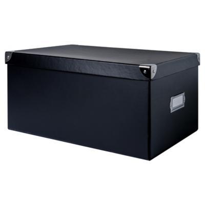Caja escritorio 18x27x38 cm negro