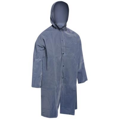Traje impermeable talla XL azul