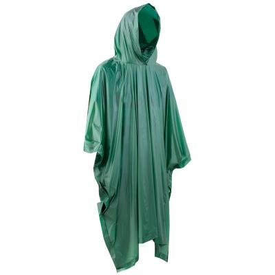 Capa impermeable talla L verde
