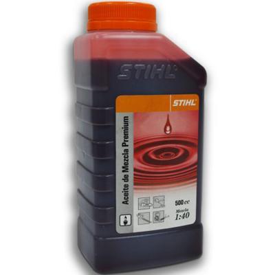 Aceite Mezcla para Motor 2 Tiempos 500 cc
