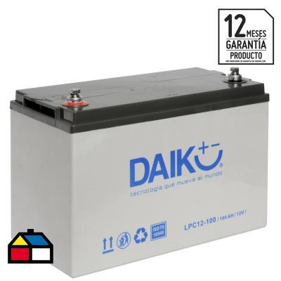 Batería de ciclo profundo 100 A positivo izquierdo