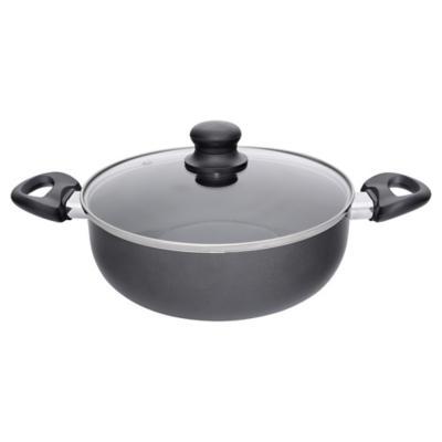 Olla de Aluminio 24 cm 3,5 Lts Negro