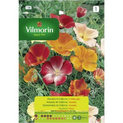 Semilla flor amapola californiana 5 gr sachet