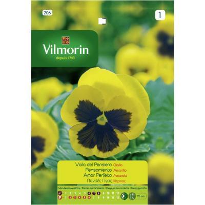 Semilla flor pensamiento amarillo 5 gr sachet