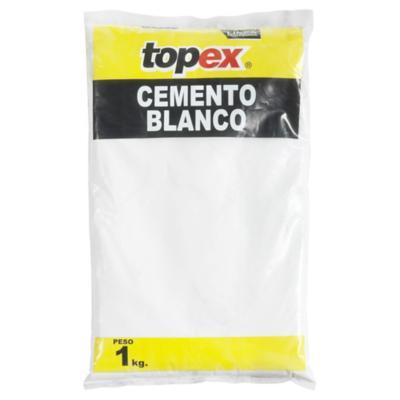 Cemento blanco 1 kg.