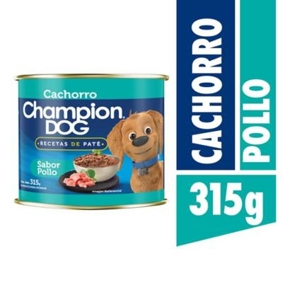 Alimento húmedo para cachorro 315 gr carne