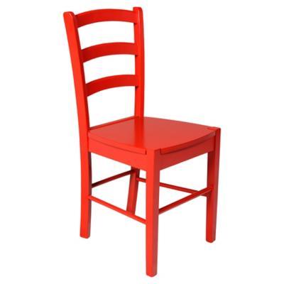 Silla 85x45x41 cm roja