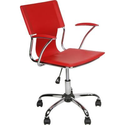 Silla PC Clásica  93x57x56 cm Rojo