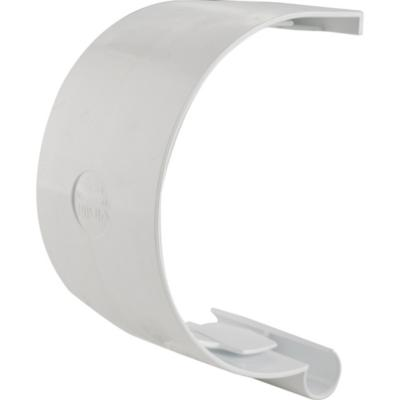 Unión canaleta PVC blanco