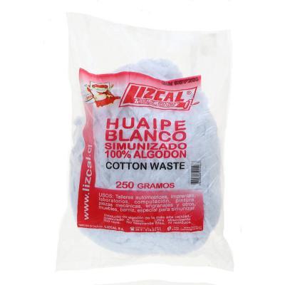 Huaipe simunizado algodón 250 gr