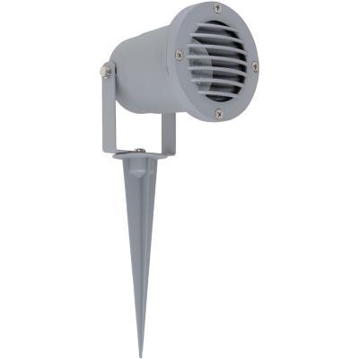 Lámpara estaca exterior 11 W gris