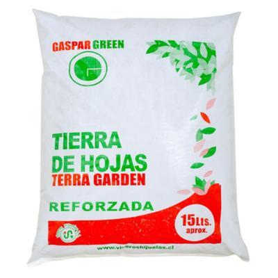 Tierra de hoja para jardín 15 litros saco