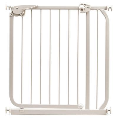 Puerta de seguridad para niños 74x70 cm madera Beige