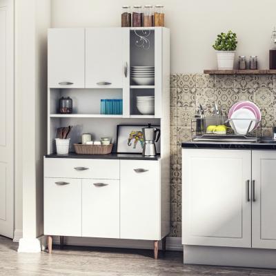Kit mueble cocina 91x173x36 cm Blanco