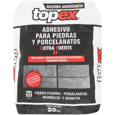 Adhesivo piedra piso/muro superficie rigida/flexible 20kg