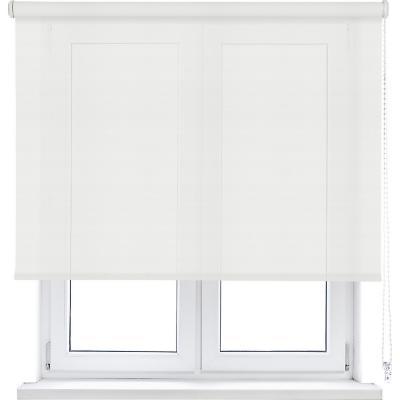 Cortina enrollable sun screen 105x190 cm blanco