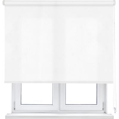Cortina enrollable L2000 105x190 cm blanco